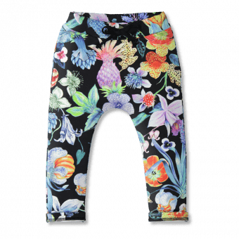 Vimma Sweatpants Leon Mystical Flowers col1 80-140 cm - 80-140 cm, col1, Leon, mystical-flowers, Sweatpants