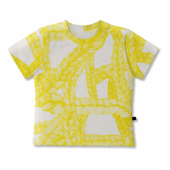 Vimma t-shirt   LIU   Letti   sitrus   80-140cm - 80-140cm, letti, LIU, sitrus, t-shirt