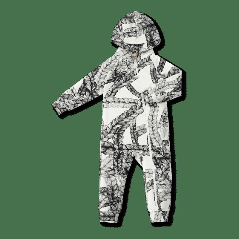 Vimma Jumpsuit AAPELI letti black-white 60-120 cm - 60-120 cm, AAPELI, black-white, braid, Jumpsuit