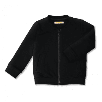 Vimma Bomber jacket MIIKO one-colored black 80-140 cm - 80-140 cm, black, Bomber jacket, MIIKO, one-colored