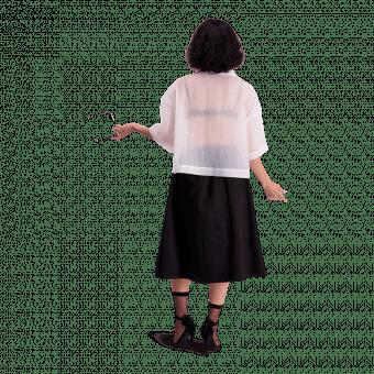 Vimma Skirt SANELMA one-colored black Onesize - black, one-colored, Onesize, SANELMA, Skirt