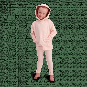 Vimma hoodie PIETU one-colored peach 90-150 - 90-150, hoodie, one-colored, peach, PIETU
