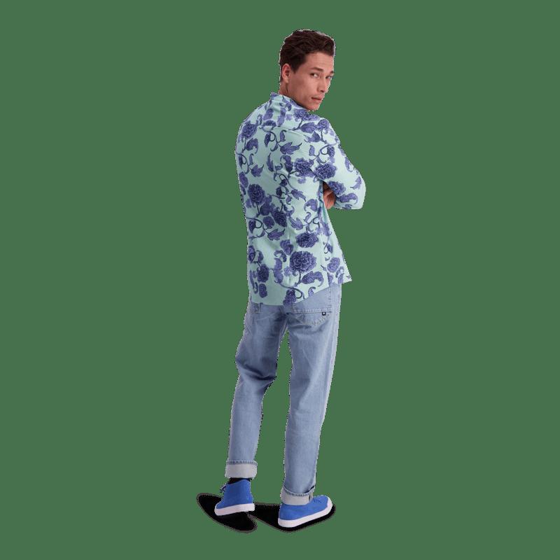 Vimma Shirt ROOPE Kiinanruusu mint XS-L - Kiinanruusu, mint, ROOPE, Shirt, XS-L