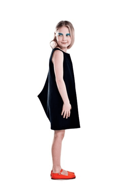 Vimma Dress Shark one-colored black 90-140cm - 90-140cm, black, Dress, one-colored, Shark