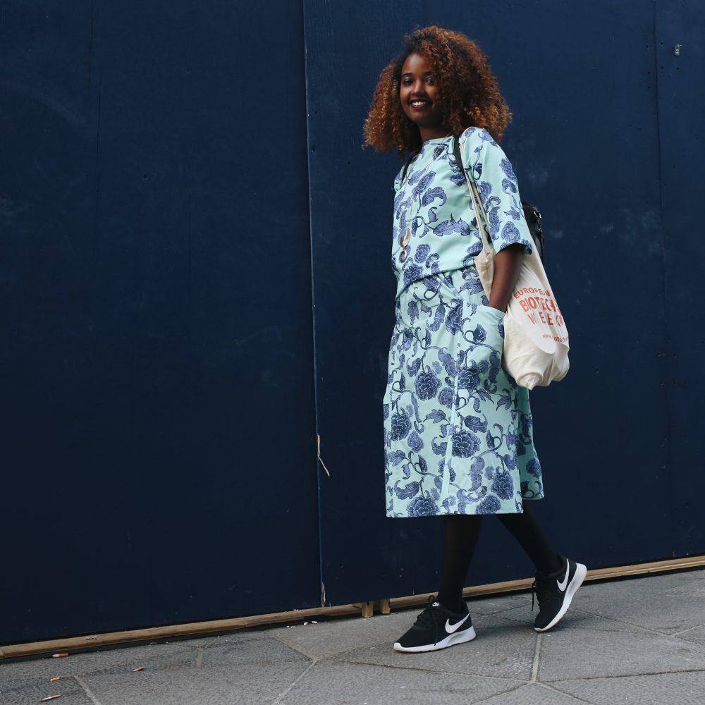 Vimma Skirt SANELMA Kiinanruusu mint Onesize - Kiinanruusu, mint, Onesize, SANELMA, Skirt
