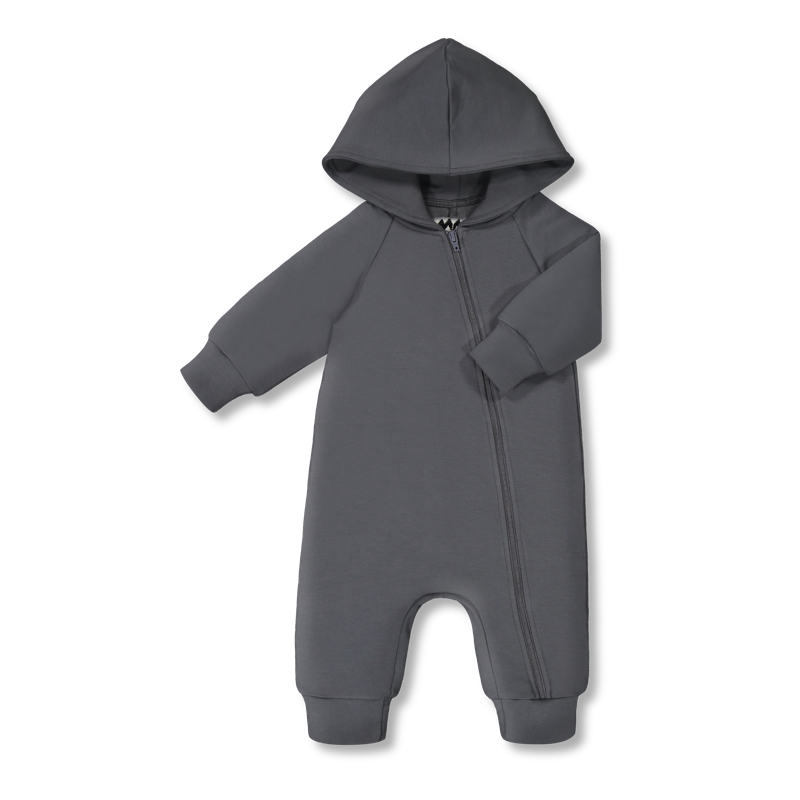Vimma Jumpsuit AAPELI one-colored dark grey 60-110cm - 60-110cm, AAPELI, dark grey, Jumpsuit, one-colored