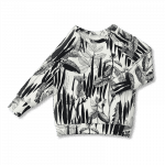 Vimma sweatshirt RIA rikkaruoho black-white 80-160 cm - 80-160 cm, black-white, RIA, rikkaruoho, sweatshirt