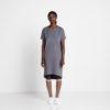 Vimma T-shirt dress ONNI one-colored dark grey Onesize - dark grey, one-colored, Onesize, ONNI, t-shirt-dress