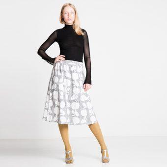 Vimma Skirt SANELMA Orangerie black-white Onesize - black-white, Onesize, Orangerie, SANELMA, Skirt