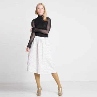 Vimma Skirt SANELMA Rulers Robe black-white Onesize - black-white, Onesize, Ruler`s Robe, SANELMA, Skirt