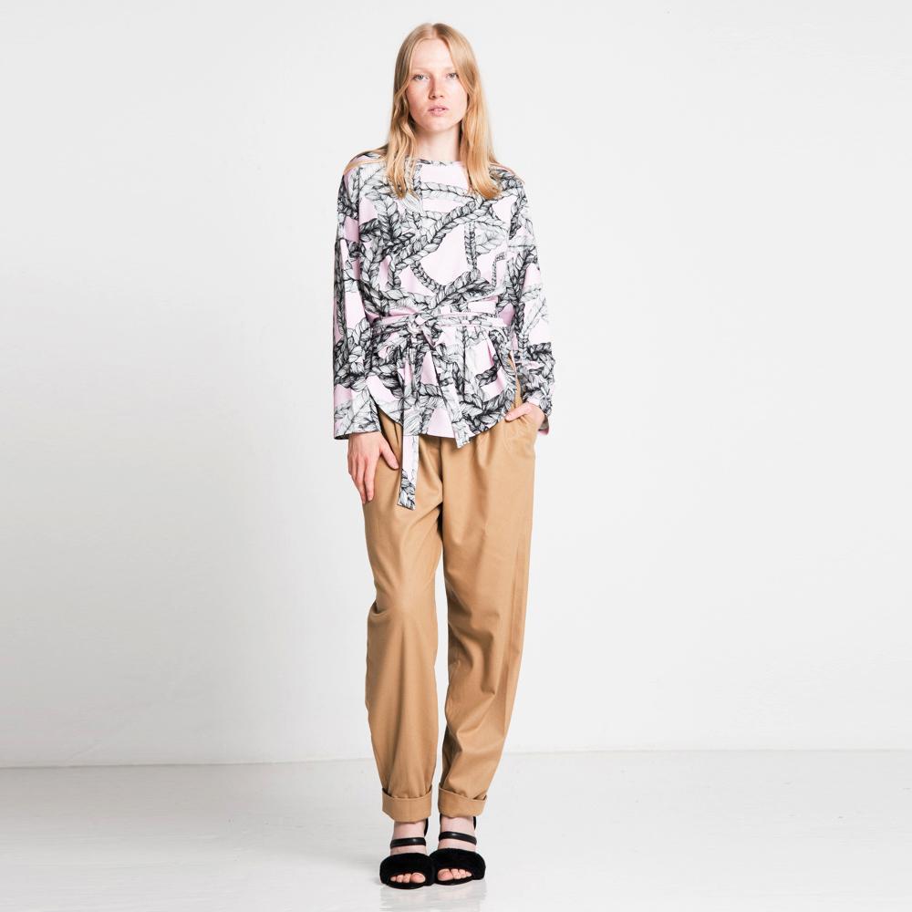 Vimma Sweatshirt Waistband KATRI Letti Sorbetti Onesize - braid, KATRI, Onesize, Sorbetti, Sweatshirt / Waistband