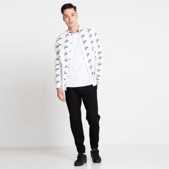 Vimma Shirt ROOPE love black-white XS-L - black-white, love, ROOPE, Shirt, XS-L