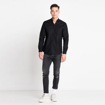 Vimma Shirt ROOPE one-colored black XS-L - black, one-colored, ROOPE, Shirt, XS-L