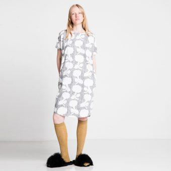 Vimma Dress PÄIVIÖ Orangerie black-white Onesize - black-white, Dress, Onesize, Orangerie, PÄIVIÖ