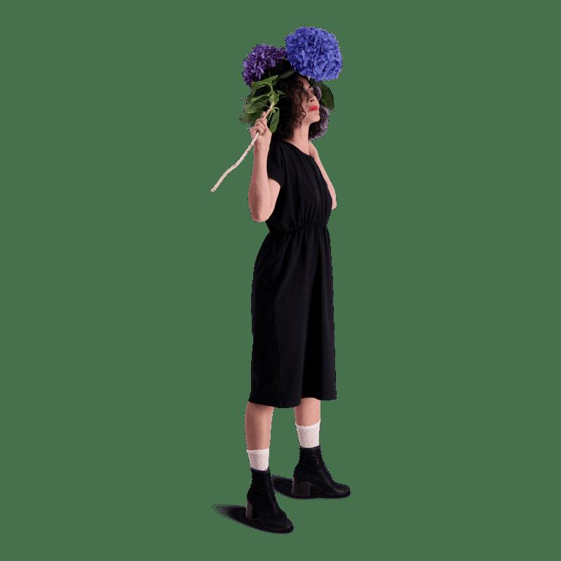 Vimma Dress VIENO one-colored black Onesize - black, Dress, one-colored, Onesize, VIENO