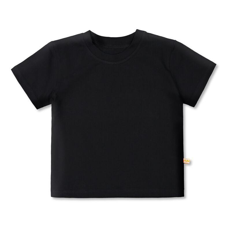 Vimma t-shirt   LIU   Bamboo   black   80-140cm - 80-140cm, Bamboo, black, LIU, t-shirt