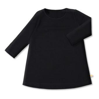 Vimma Tunic dress RUU one-colored black 80-140cm - 80-140cm, black, one-colored, RUU, tunic-dress