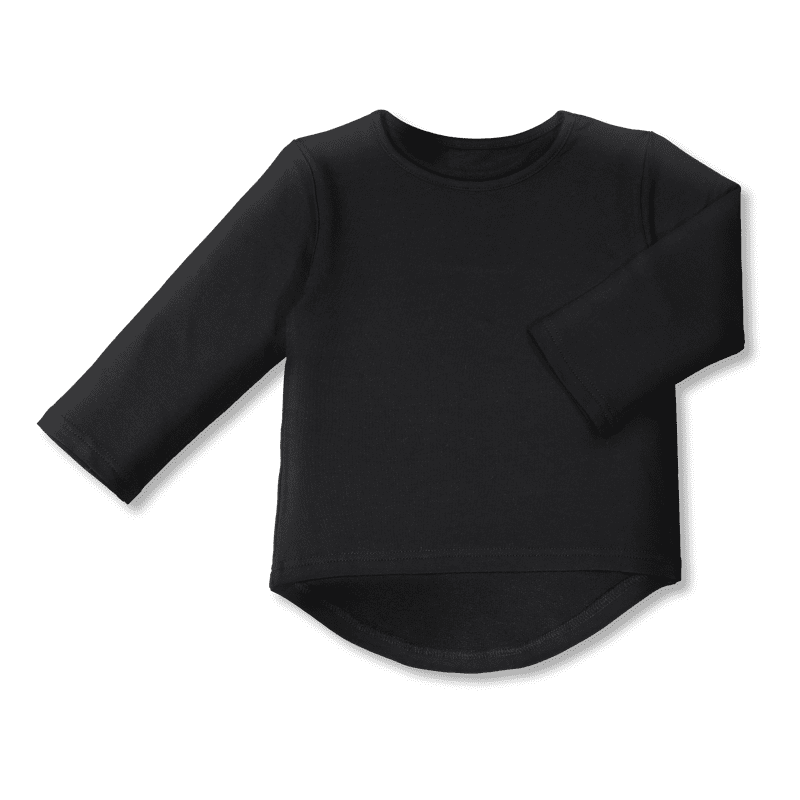 Vimma Long sleeved   UTU   Bamboo   one-colored black   80-140cm - 80-140cm, Bamboo, Long sleeved, one-colored black, UTU