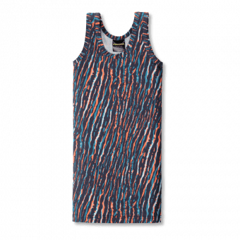 Vimma Top dress   EELA   African Stripes   turquoise-orange   90-150 - 90-150, African Stripes, EELA, Top dress, turquoise-orange