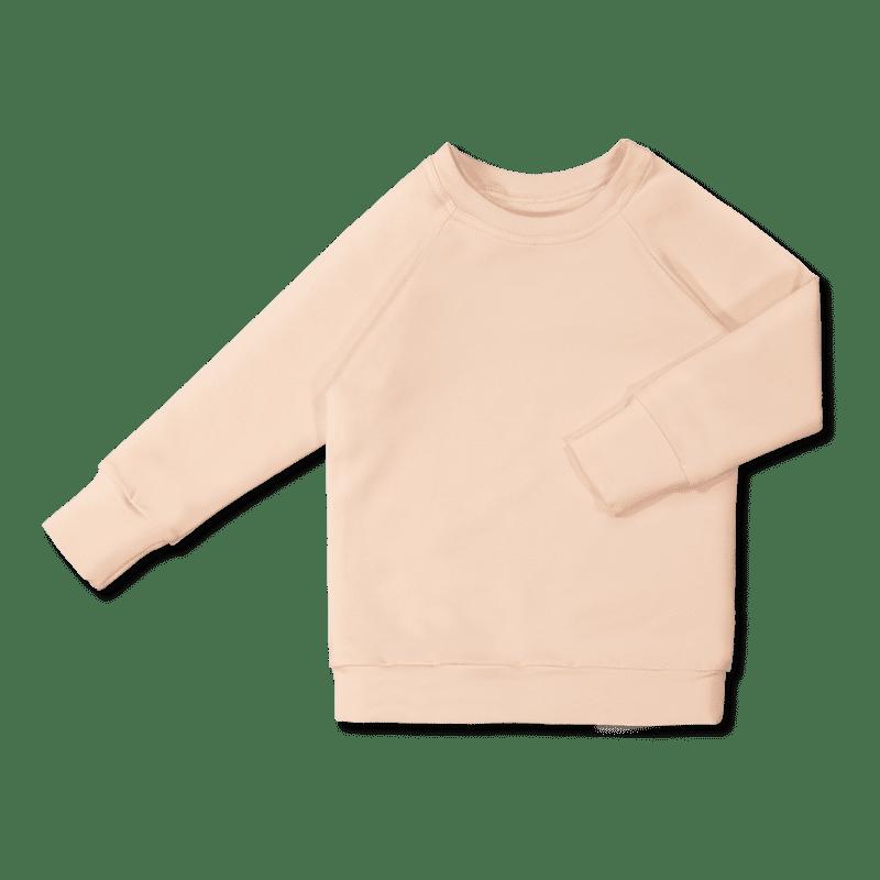 Vimma sweatshirt RIA one-colored peach 80-160 cm - 80-160 cm, one-colored, peach, RIA, sweatshirt