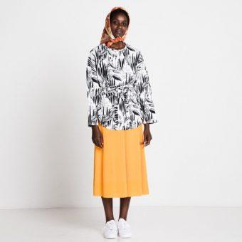 Vimma Sweatshirt Waistband KATRI Rikkaruohot black-white Onesize - black-white, KATRI, Onesize, rikkaruohot, Sweatshirt / Waistband