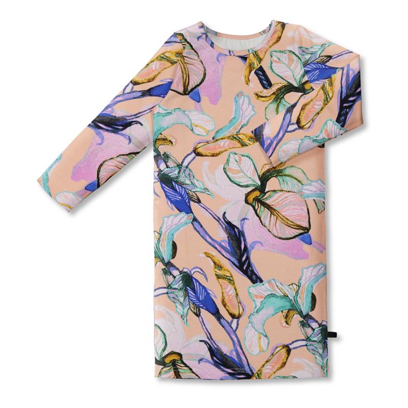 Vimma Maxi dress AAVA Ilta Verannalla peach 100-160cm - 100-160cm, AAVA, Ilta Verannalla, Maxi dress, peach