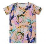 Vimma T-shirt dress UNNA Ilta Verannalla peach 90-160 cm - 90-160 cm, Ilta Verannalla, peach, t-shirt-dress, UNNA
