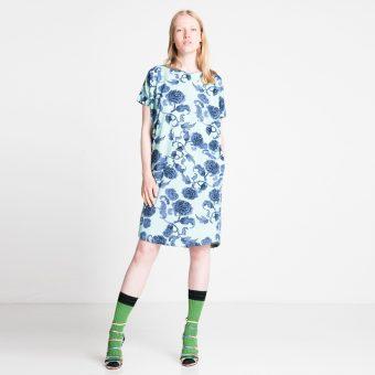Vimma Dress PÄIVIÖ Kiinanruusu mint Onesize - Dress, Kiinanruusu, mint, Onesize, PÄIVIÖ