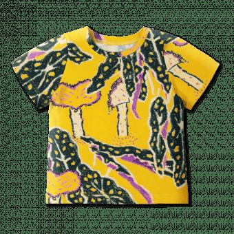 Vimma T-shirt LIU Paradise chaps yellow-green 80-140cm - 80-140cm, LIU, Paradise chaps, t-shirt, yellow-green