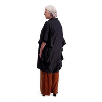 Vimma Ruffle Dress IRINA one-colored black Onesize - black, IRINA, one-colored, Onesize, Ruffle Dress