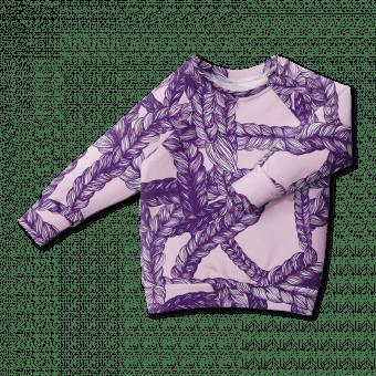 Vimma sweatshirt RIA Letti purple 90-160 cm - 90-160 cm, letti, purple, RIA, sweatshirt