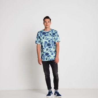 Vimma T-shirt Unisex RAUHA Kiinanruusu mint Onesize - Kiinanruusu, mint, Onesize, RAUHA, T-shirt / Unisex
