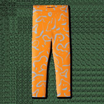Vimma leggins ELO Dancing creatures orange 80-150cm - 80-150cm, Dancing creatures, ELO, leggins, orange