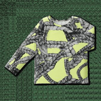 Vimma Long-Sleeve Shirt PAU Letti lime 80-140cm - 80-140cm, letti, lime, Long-Sleeve Shirt, PAU