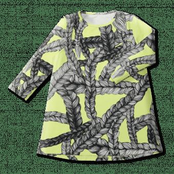 Vimma Tunic dress RUU Letti lime 80-140cm - 80-140cm, letti, lime, RUU, tunic-dress