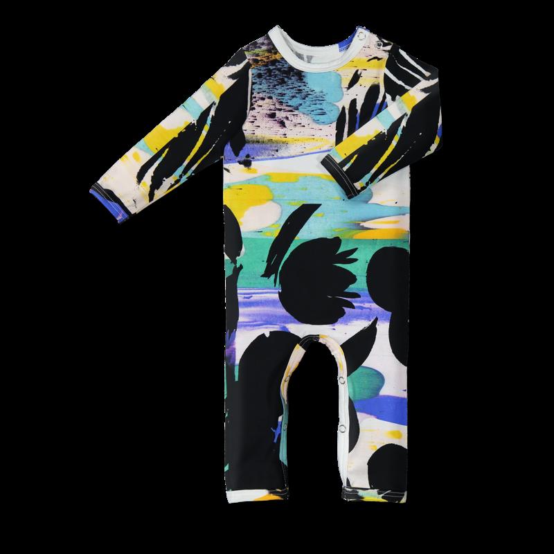 Vimma bodysuit   RASA   Kukkatiili   colourful   60-90cm - 60-90cm, bodysuit, colourful, Kukkatiili, RASA