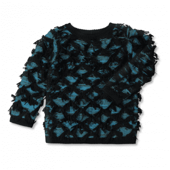 Vimma Knitwear TALVIKKI Turquoise-Moss green 90-160 cm - 90-160 cm, Knitwear, TALVIKKI, Turquoise-Moss green