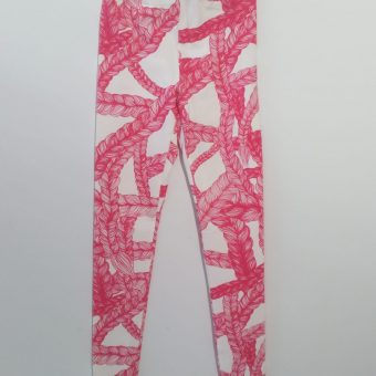 Vimma leggings KAINO Letti sweet pink XS-XL - braid, KAINO, leggings, sweet pink, XS-XL