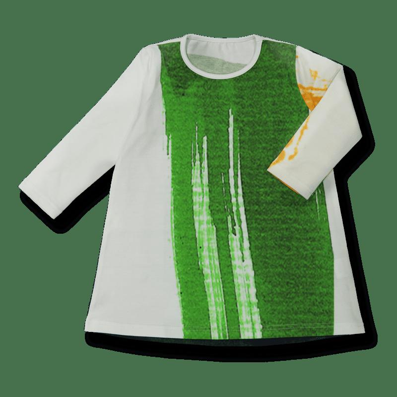 Vimma Tunic dress RUU Silmä white-colorful 80-140cm - 80-140cm, RUU, Silmä, tunic-dress, white-colorful