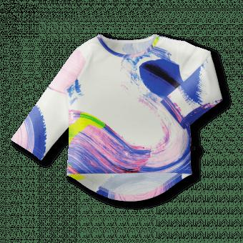 Vimma Long sleeved UTU Maaliprintti white-colorful 80-140cm - 80-140cm, Long sleeved, Maaliprintti, UTU, white-colorful