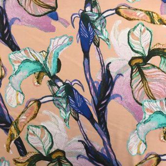 Vimma Cotton textile Ilta verannalla jersey - Cotton textile, Ilta Verannalla, Jersey