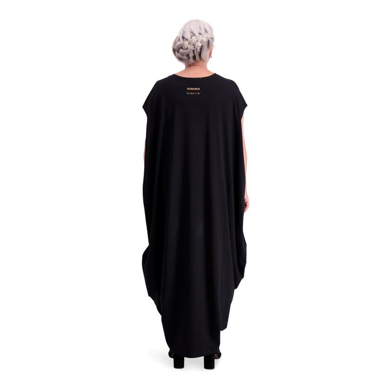 Vimma Stiina dress one-colored black one size - black, Dress, one size, one-colored, Stiina