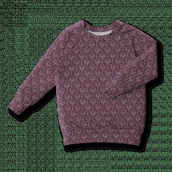 Vimma sweatshirt RIA Leopardi pink 90-160 cm - 90-160 cm, Leopardi, pink, RIA, sweatshirt