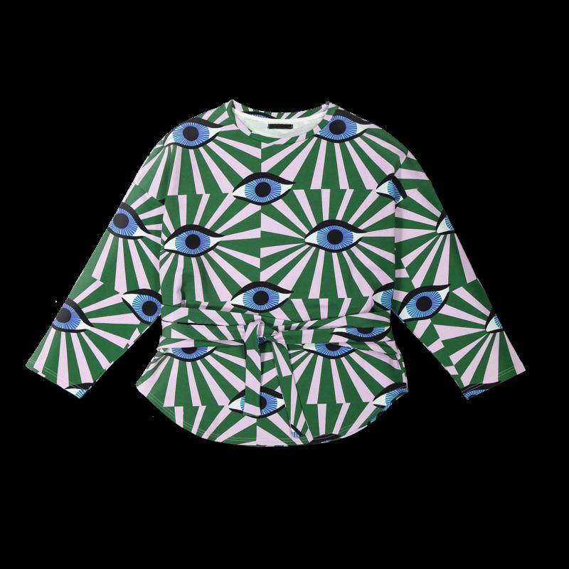 Vimma Sweatshirt Waistband KATRI äidin valvova silmä lilac-green Onesize - äidin valvova silmä, KATRI, lilac-green, Onesize, Sweatshirt / Waistband