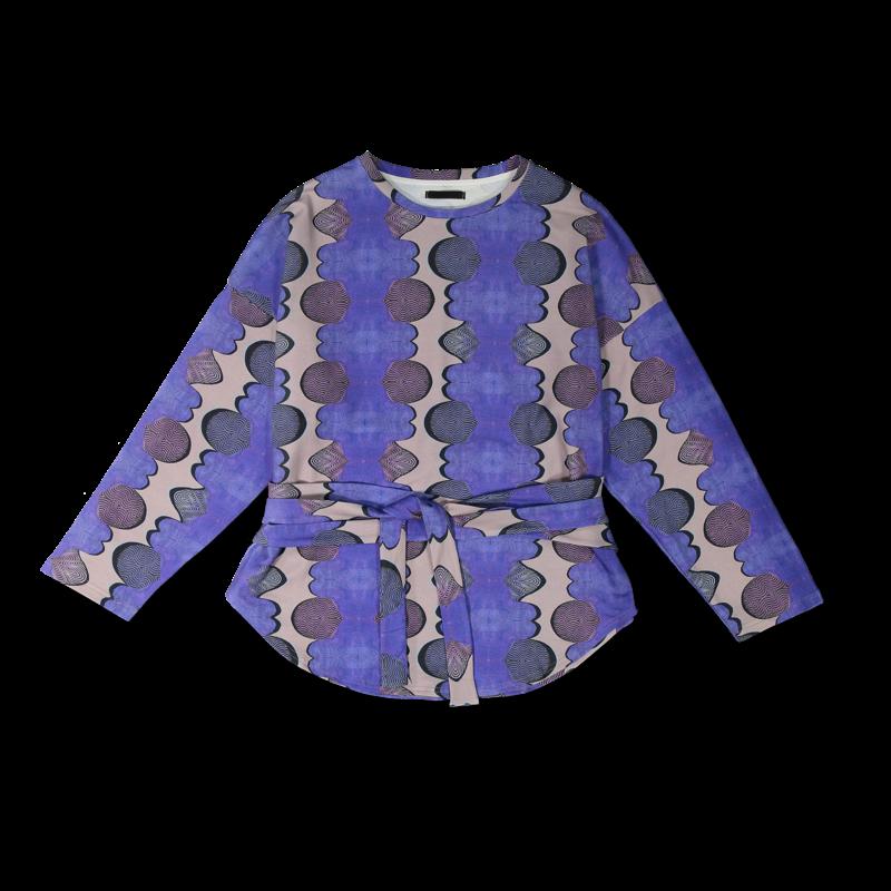 Vimma Sweatshirt Waistband KATRI Afrikka blue Onesize - afrikka, blue, KATRI, Onesize, Sweatshirt / Waistband