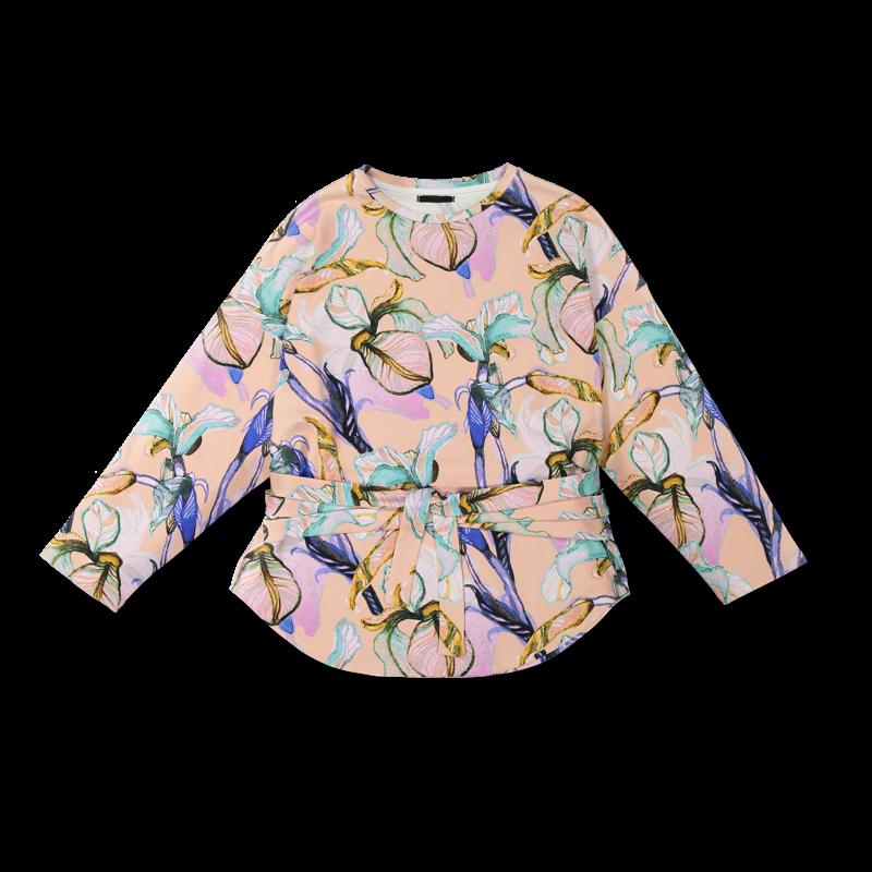 Vimma Sweatshirt Waistband KATRI Ilta Verannalla peach-colourful Onesize - Ilta Verannalla, KATRI, Onesize, peach-colourful, Sweatshirt / Waistband