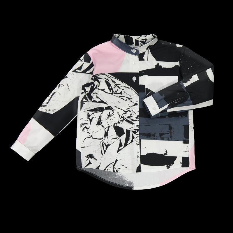 Vimma Botton-up shirt VEIKKO TEMPLATE TEMPLATE 90-150 cm - 90-150 cm, Botton-up shirt, TEMPLATE, VEIKKO