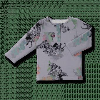 Vimma Snapper shirt OLA Sademetsän suojissa col2 80-140cm - 80-140cm, col2, OLA, Sademetsän suojissa, Snapper shirt