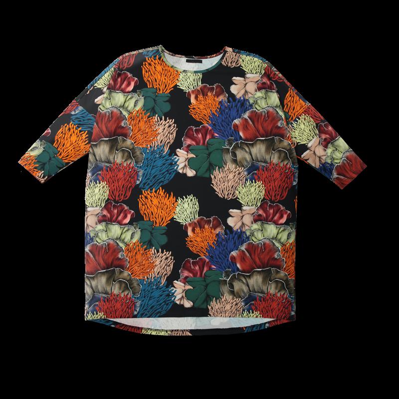 Vimma Tunic Box SELMA koralli black-colourful Onesize - black-colourful, koralli, Onesize, SELMA, Tunic / Box