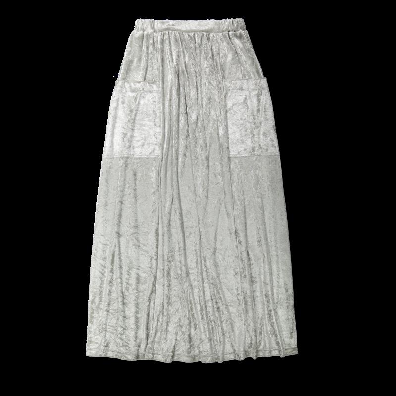 Vimma Skirt Long SYLVI Loimusametti Silver Onesize - Loimusametti, Onesize, Silver, Skirt / Long, SYLVI